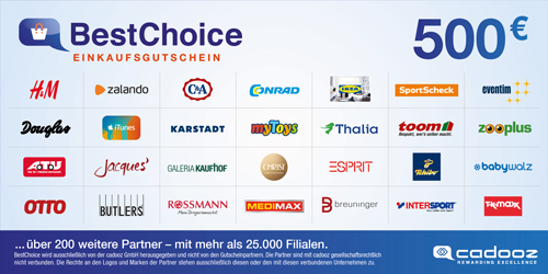 Best Choice Gutschein